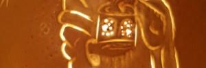 Uovo San Giuseppe illuminato