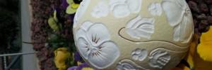 Uovo viole del pensiero non ill