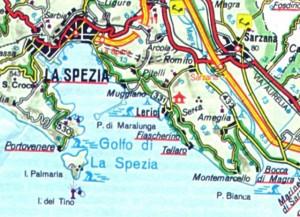 cartina di tellaro