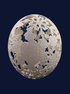 uovo dell'artista tamera seevers
